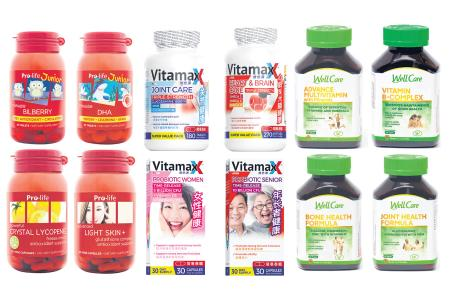 Stock up on Unity's health supplements for wellness boost