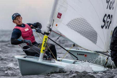 No plain sailing for Singapore's Olympic debutant Ryan Lo