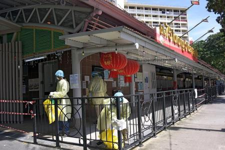 Hawker centre closed after worker linked to KTV cluster tests positive
