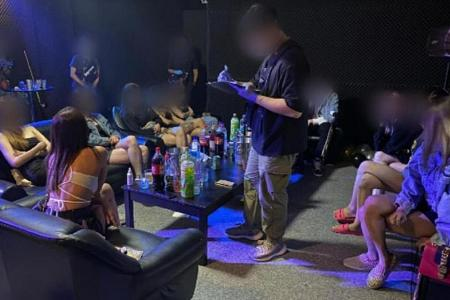 39 found socialising in raid on illegal entertainment outlets