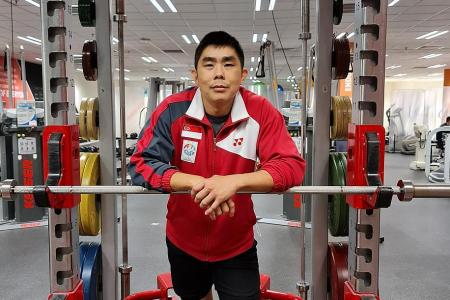 He upgrades himself to better train Singapore's athletes