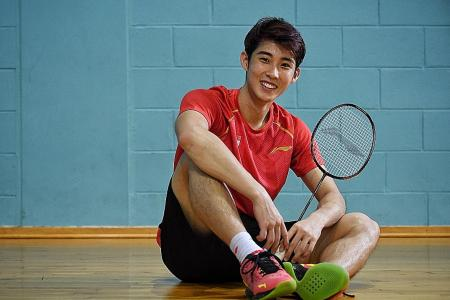 Olympics: Singapore's Loh Kean Yew pledges to fight as he eyes top 3
