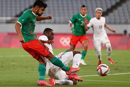 Olympics: Mexico hammer France 4-1 in clash of past champions