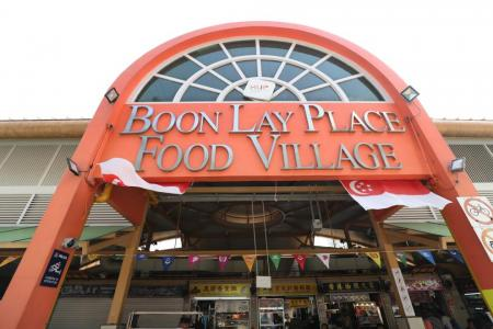 Boon Lay Place Food Village closed till Aug 6