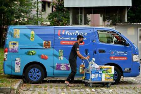 Online grocers see spike in demand for food items, delivery slots