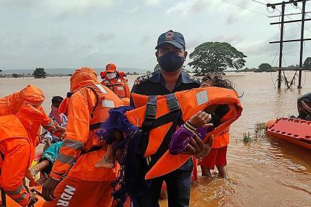 Landslide 'washed away' fleeing Indian villagers