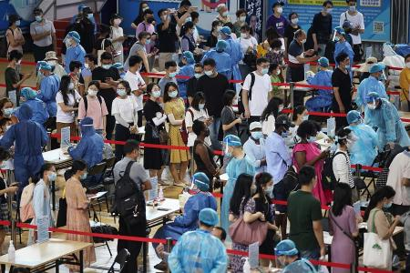 China reports most Covid-19 cases since January amid surge in Nanjing