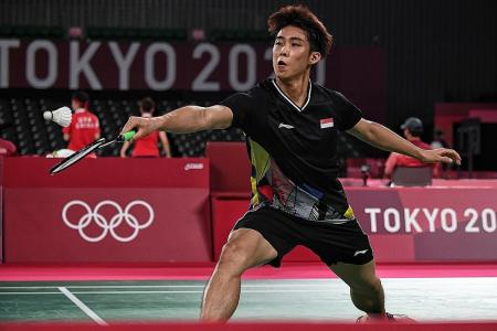 Singapore's Loh Kean Yew eyes different outcome against Asian champ