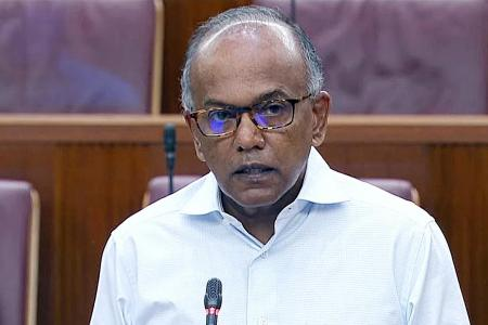 We were not 'naive' about KTV joints: Shanmugam