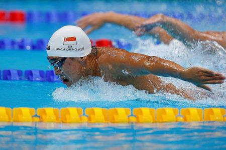 No excuses, says Quah Zheng Wen, after he misses another s-final