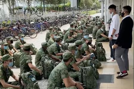 SAF commander to be disciplined for removing mask