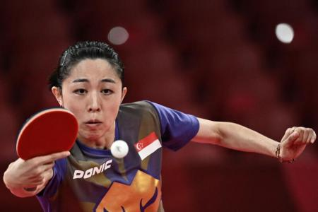 Olympics: Singapore paddler Yu Mengyu storms into semi-finals