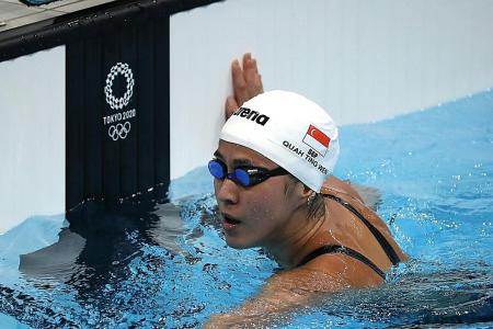 Quah Ting Wen eyes 50m free redemption after 100m free exit