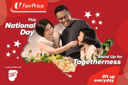 Celebrate S'pore's birthday with FairPrice's National Day promotions