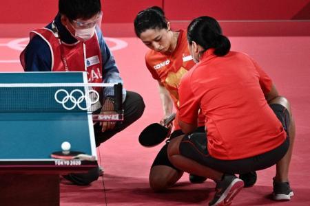 Olympics: Singapore's Yu Mengyu pledges to fight on despite injury
