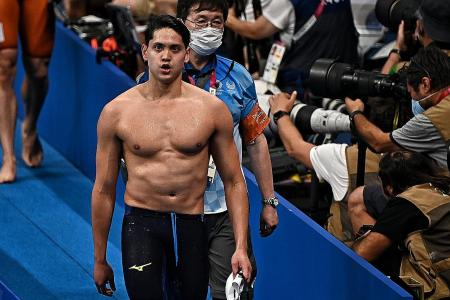 'It's hard to swallow' says Joseph Schooling after losing