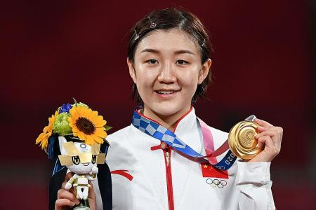 Chen Meng hopes to silence critics with her first Olympic title