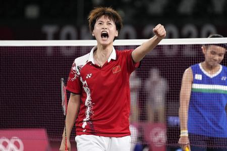 No title for Tai Tzu-ying as China's Chen Yufei wins badminton gold
