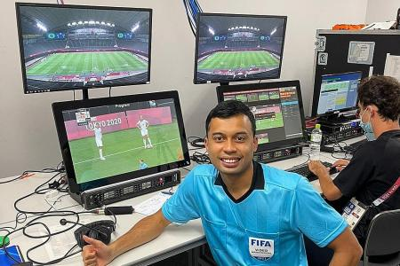 Singapore ref Taqi reaches another milestone with Olympic appointment