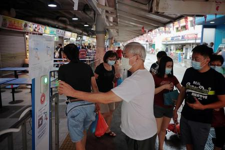 Patrons welcome stricter safety rules at markets, hawker centres