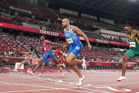 100m winner Lamont Marcell Jacobs a bolt from the blue