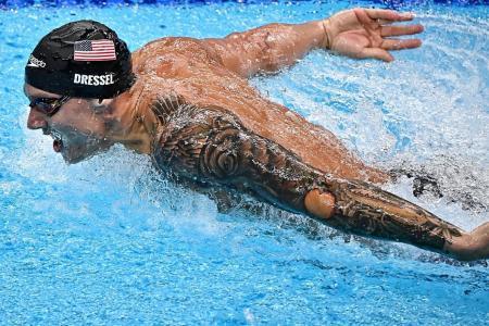 Caeleb Dressel: It's not my goal to beat anybody