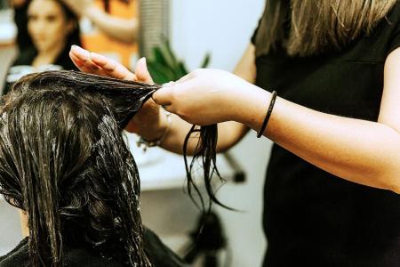 Stress causes hair loss, scalp irritation