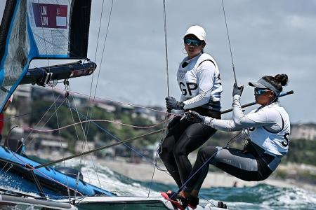 Sailors Lim and Low 'within striking distance' of medal: Dr Tan