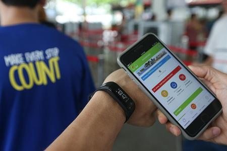 HPB keeping better track of fitness trackers: Ong Ye Kung