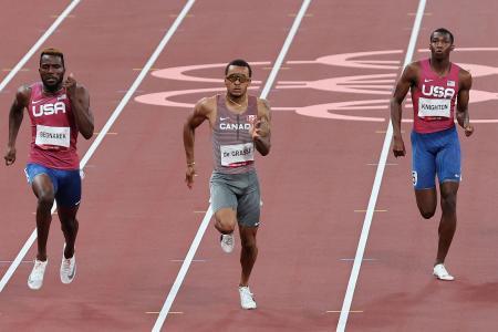 Andre de Grasse's gold extends US sprint drought