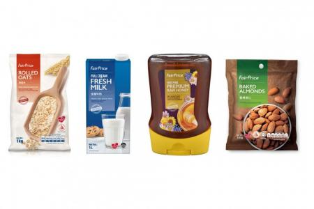 Whip up tasty, affordable meals using FairPrice products