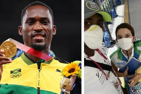 Olympic gold medallist tracks down volunteer who gave him taxi fare and saved his dream