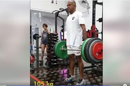 Minister Shanmugam's deadlift video goes viral