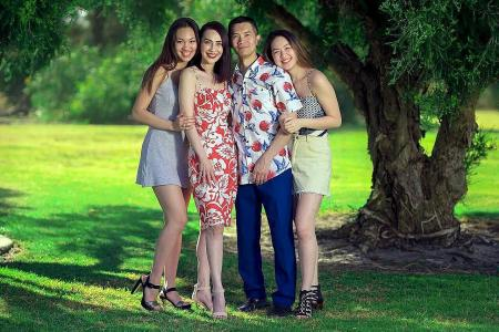 Miss Universe Singapore is a family tradition for one finalist
