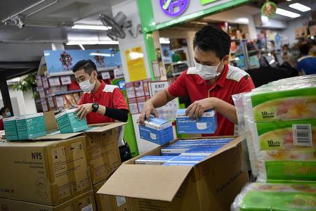 Pick up surgical, N95 masks from malls and supermarkets from Aug 26