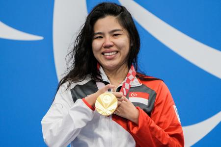 4th Paralympic gold medal brings Yip Pin Xiu to tears