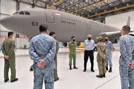 RSAF tanker aircraft off to help transport evacuees from Afghanistan