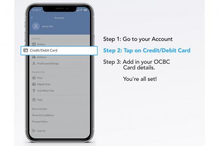 Spend $100 using OCBC card via FairPrice app and get $8 e-voucher