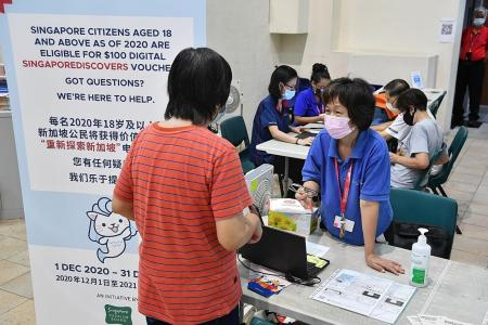 Nearly $178m in bookings made for SingapoRediscovers Vouchers