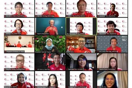 President hails Singapore's Paralympians