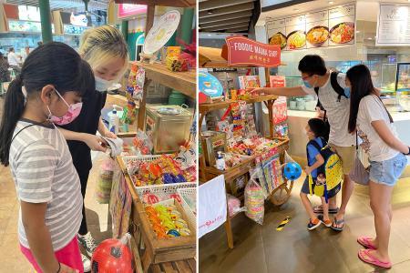 Savour nostalgic snacks and games at Kopitiam, Foodfare outlets