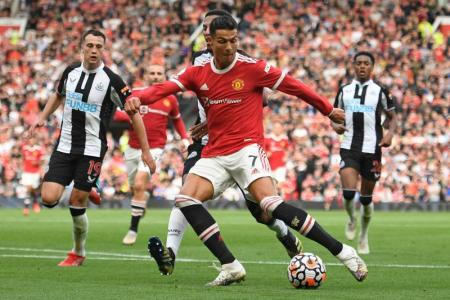 I was super nervous: Ronaldo on his second United debut