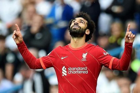Salah scores 100th EPL goal as Liverpool defeat Leeds 3-0