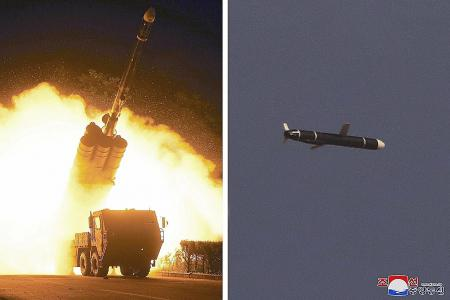 N. Korea tests first cruise missile with possible nuclear capability