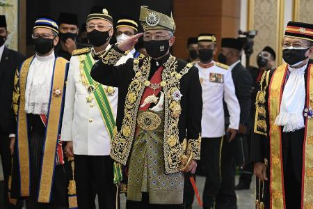 Malaysian King tells politicians not to gamble with country's future