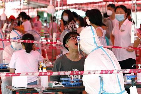Covid-19 cases in Fujian more than double as Delta variant spreads