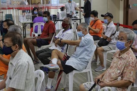 3,200 seniors receive third Covid-19 jab as booster programme begins