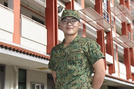 NSF, 21, creates BMT sketch book to give peek into army life