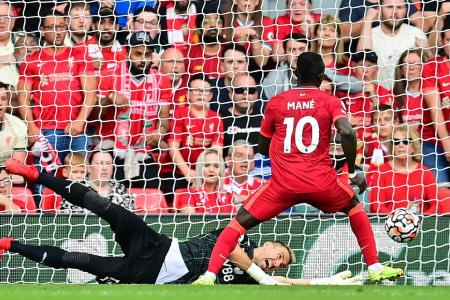 Klopp hails Mane after his 100th goal for Liverpool