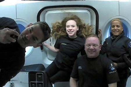 SpaceX capsule with world's first all-civilian crew returns from orbit